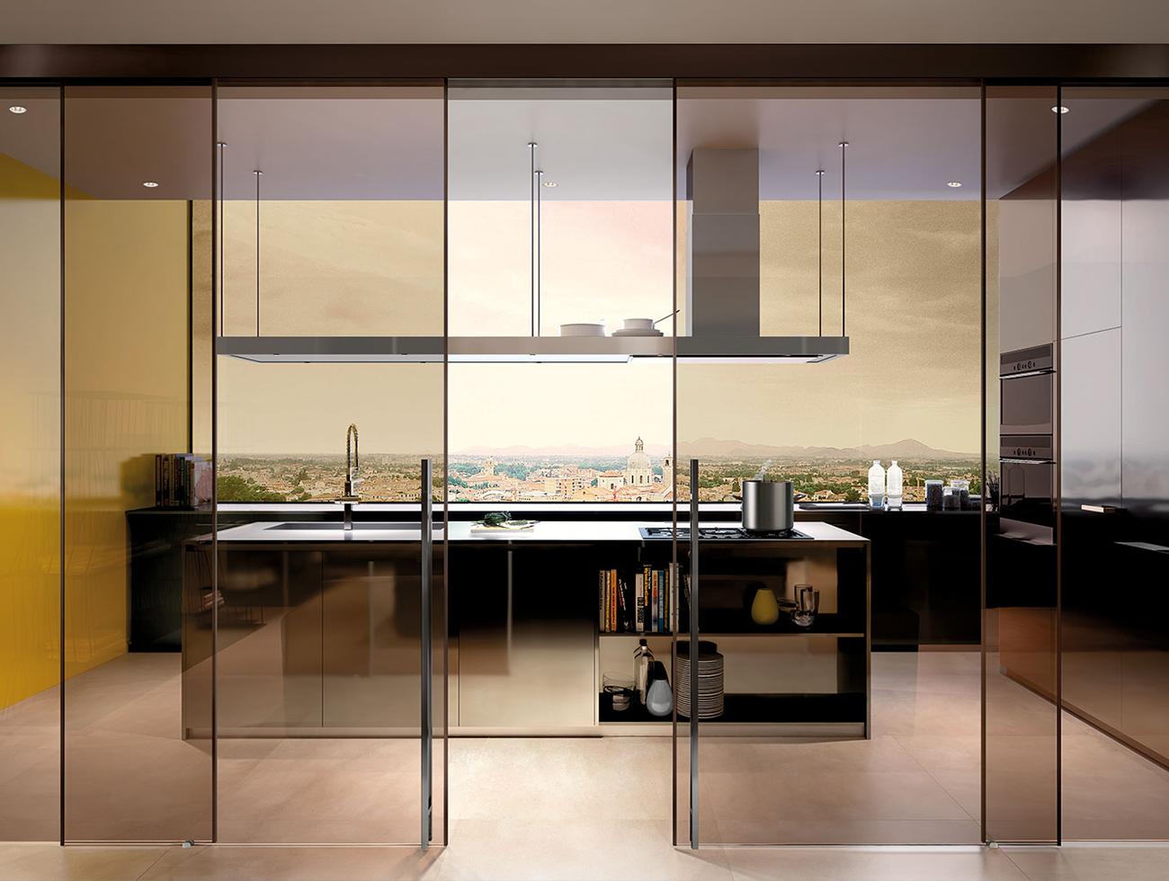 Porte Doppie Scorrevoli Vetro vendita e installazione porte esterno muro in vetro con