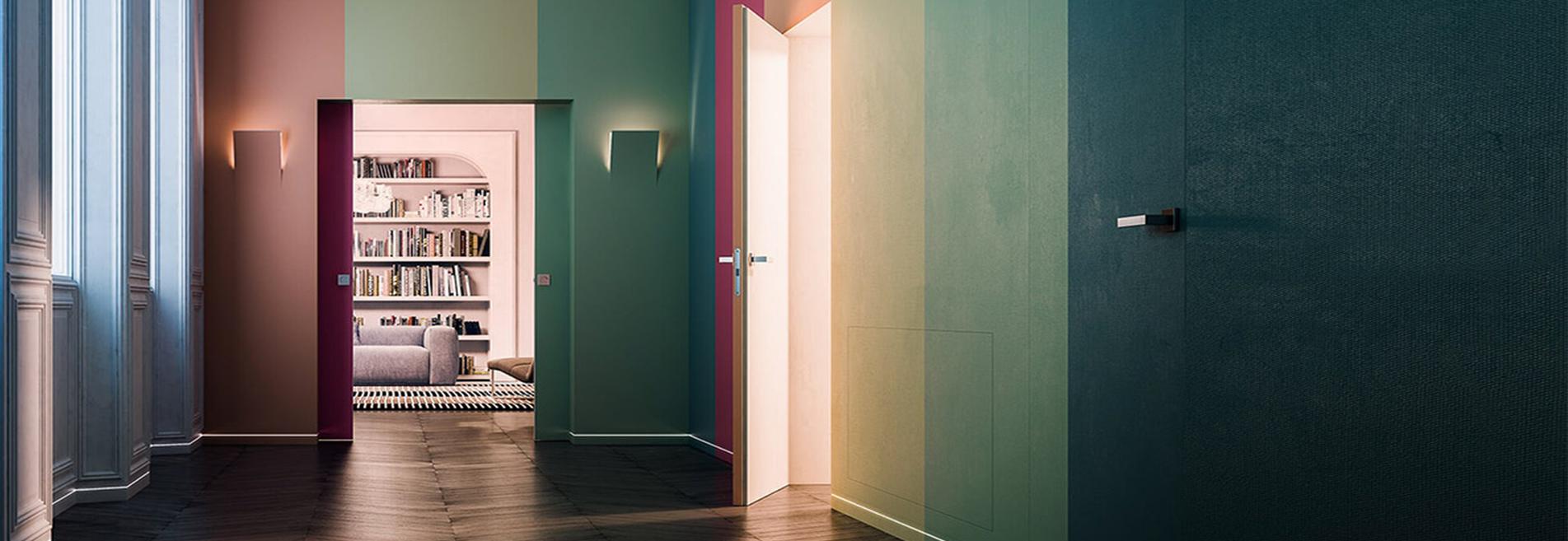 Montaggio Porta Filo Muro Cartongesso scopri le nostre porte interne con sistema filo muro