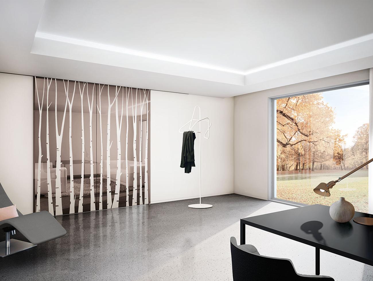 Porta Scorrevole Su Muro Portante vendita e installazione porte esterno muro in vetro con