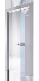 Vendita vetrate porte a battente laccate e senza copriprofili